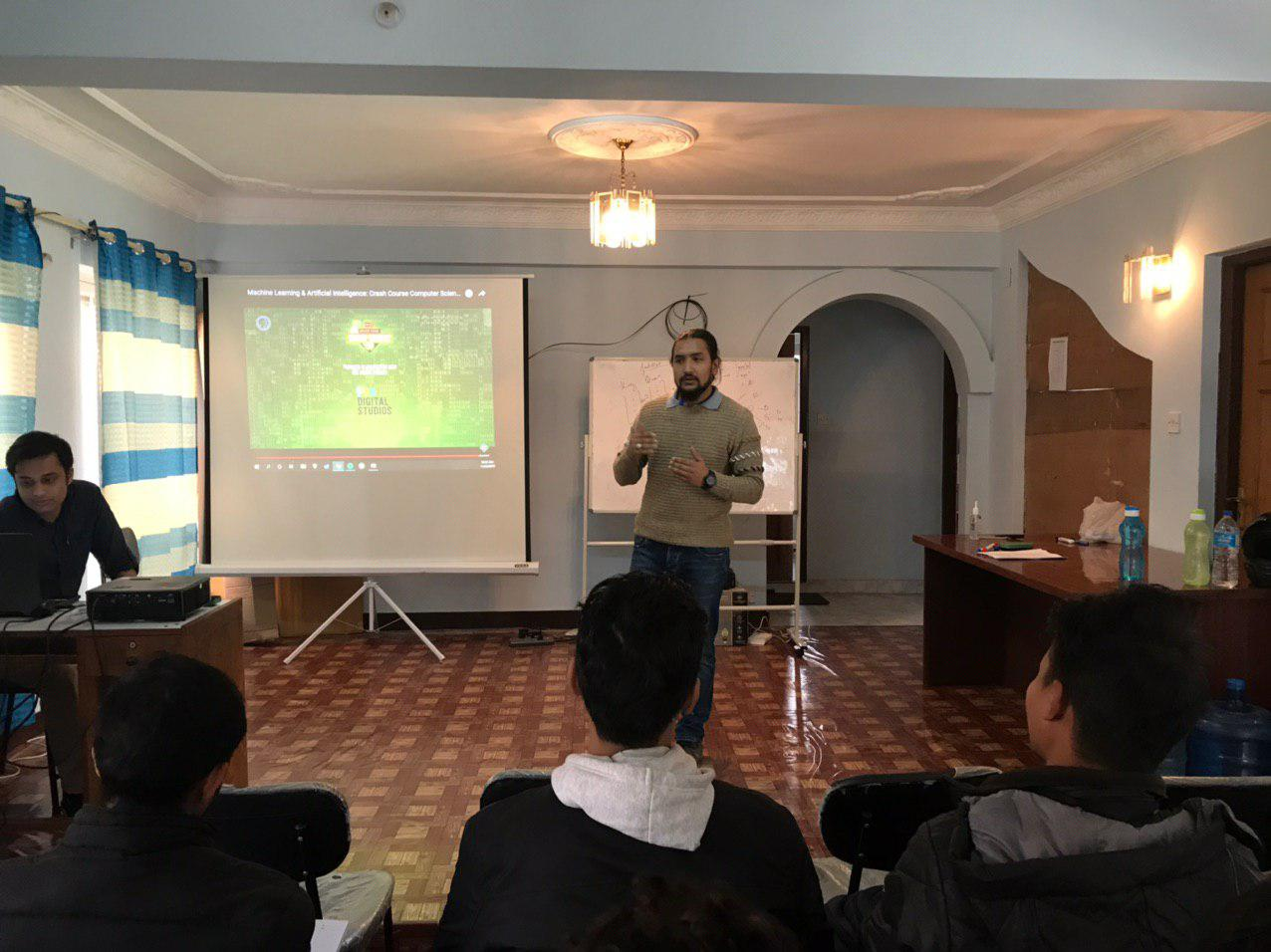 inspiring lab, ai training in nepal